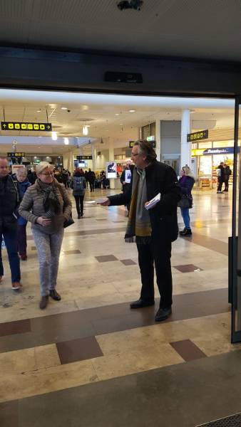 ANF | Demonstrations against the isolation of Öcalan in Sweden
